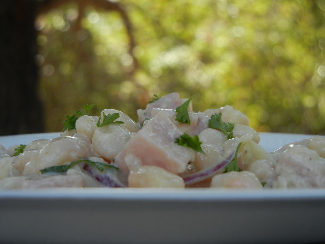 White Bean and Ham Salad - Red Hot and Hungry