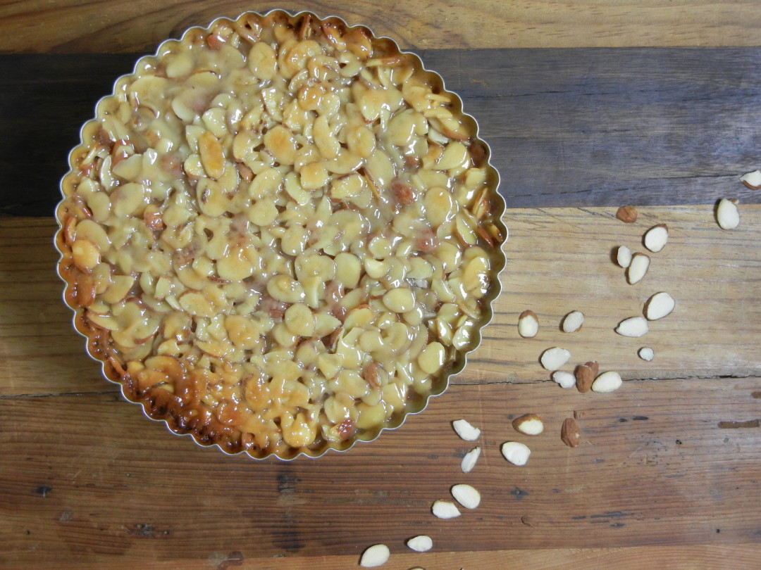 Almond Tart - Red Hot and Hungry