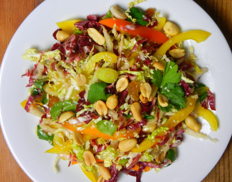 Asian Sesame Slaw - Red Hot and Hungry