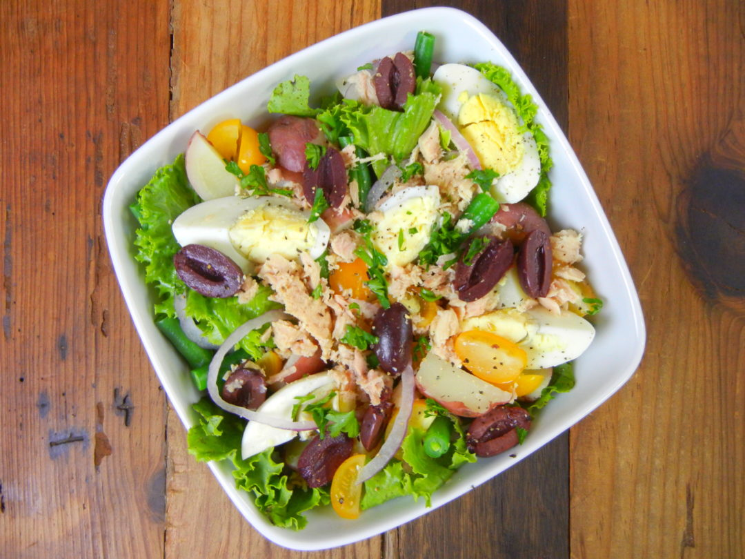 Salade Niçoise - Red Hot and Hungry