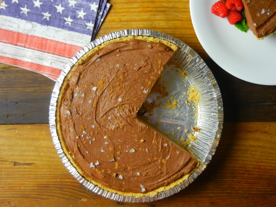 Salted Chocolate Cheesecake - Red Hot and Hungry