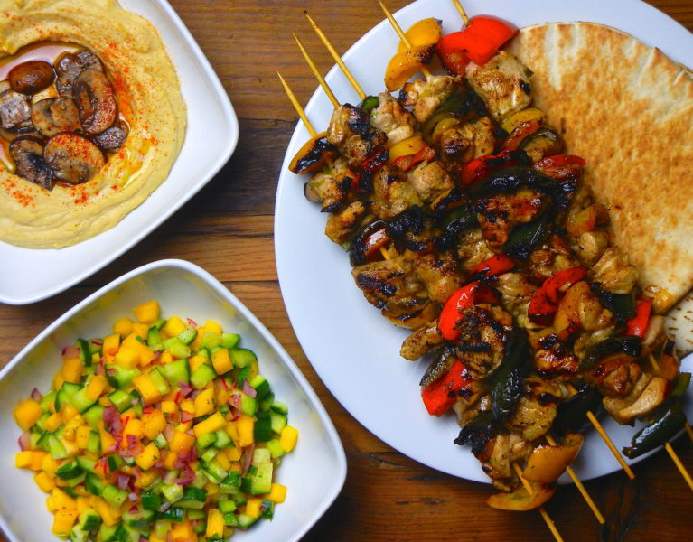 Chicken Kebabs - Red Hot and Hungry