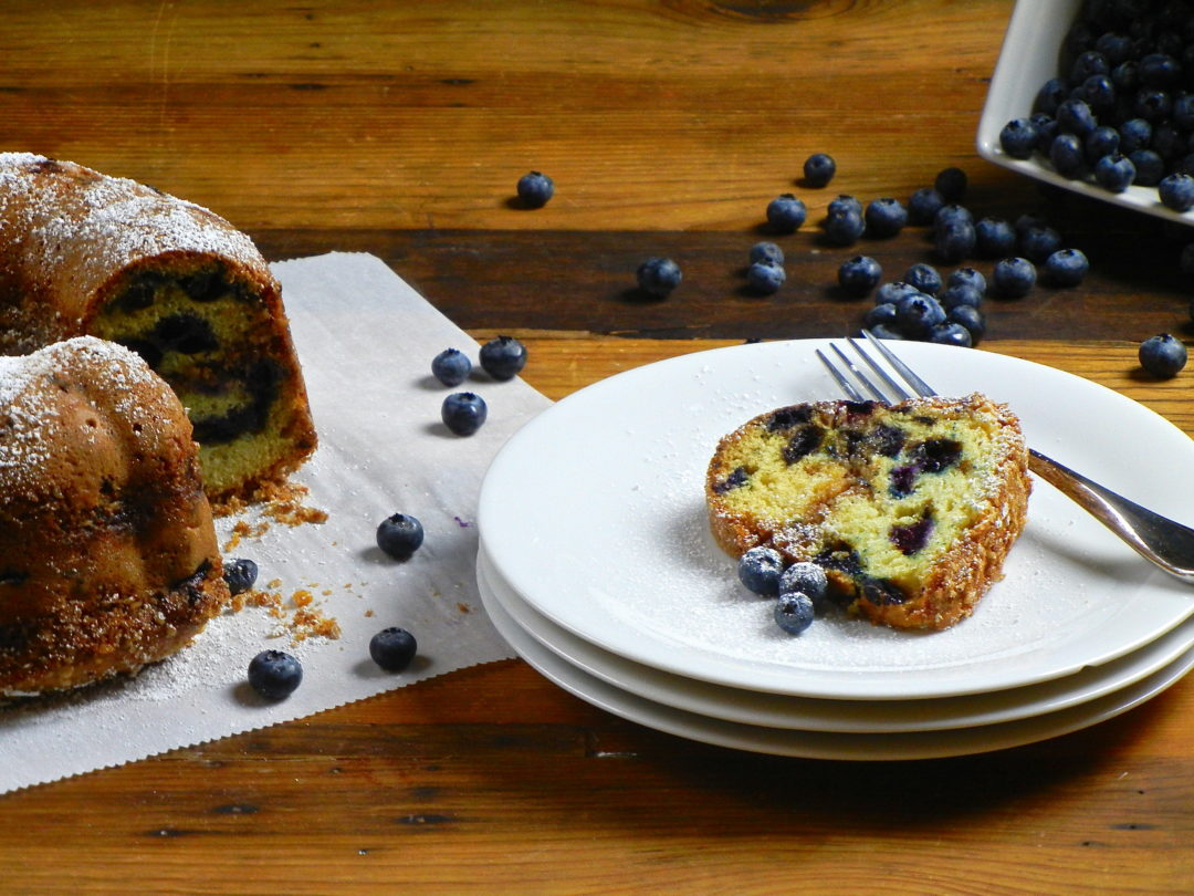 Blueberry Streusel Coffeecake - Red Hot and Hungry