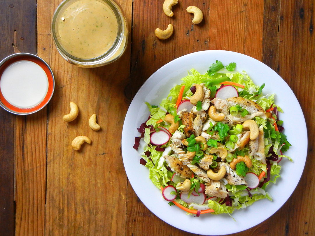 Creamy Cashew Chicken Salad - Red Hot and Hungry