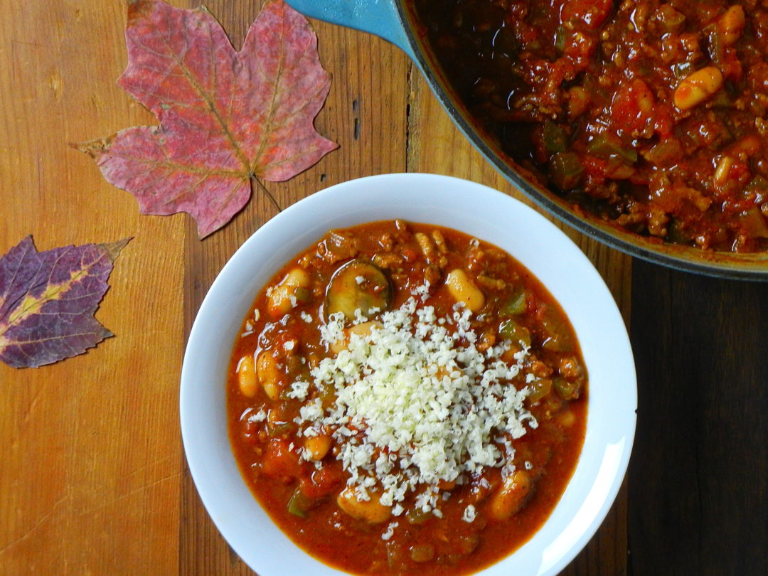 Turkey Chili - Red Hot and Hungry