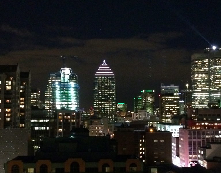 Montreal at Night - Red Hot and Hungry