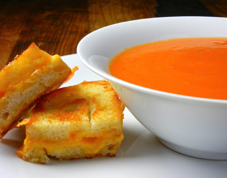 Tomato Soup - Red Hot and Hungry