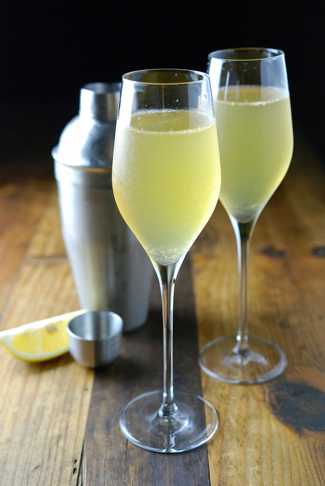 French 75 - Red Hot and Hungry
