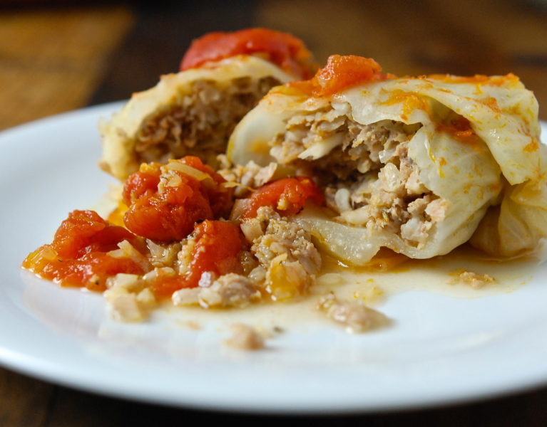 Stuffed Cabbage - Red Hot and Hungry