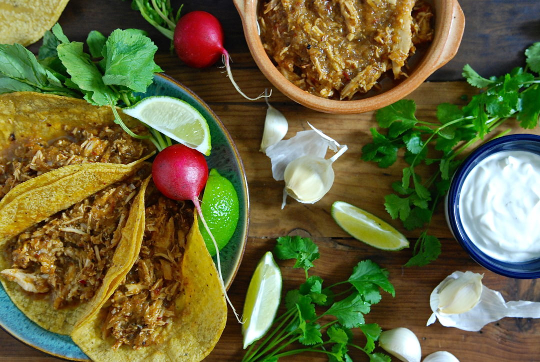 Tinga Tacos - Red Hot and Hungry