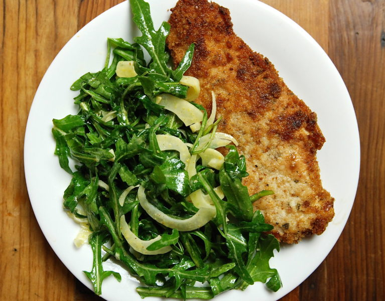 Chicken Schnitzel - Red Hot and Hungry