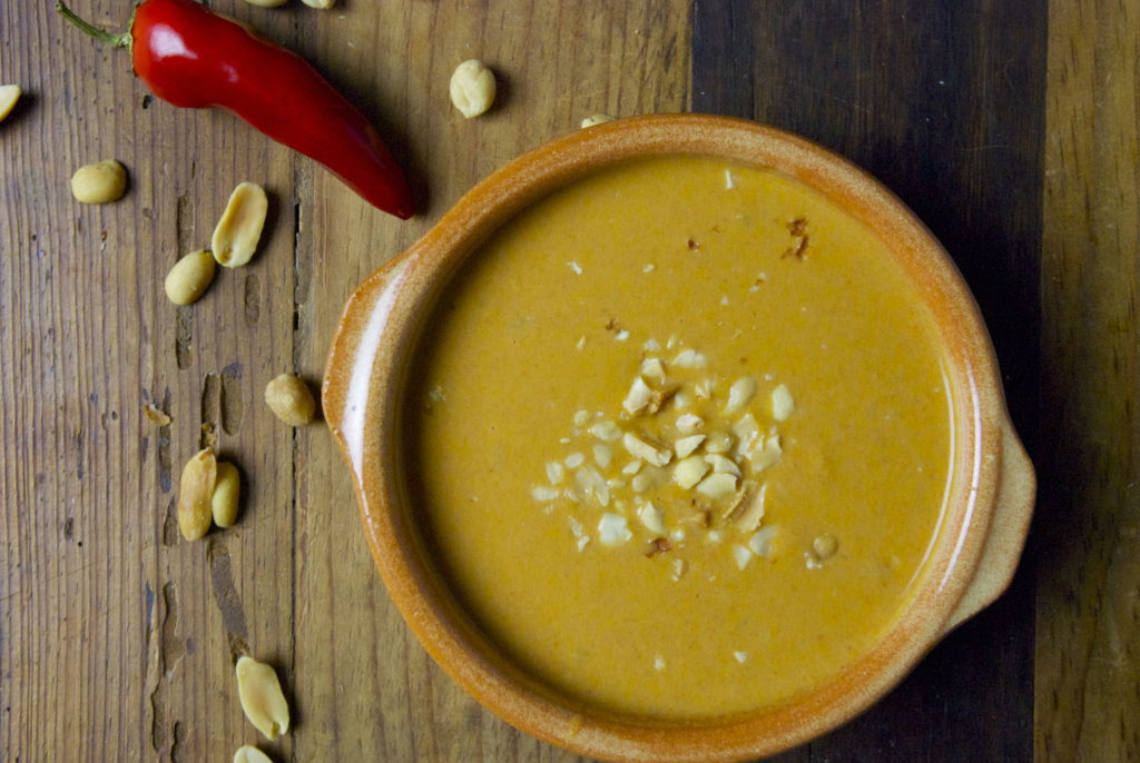 Peanut Dipping Sauce - Red Hot and Hungry