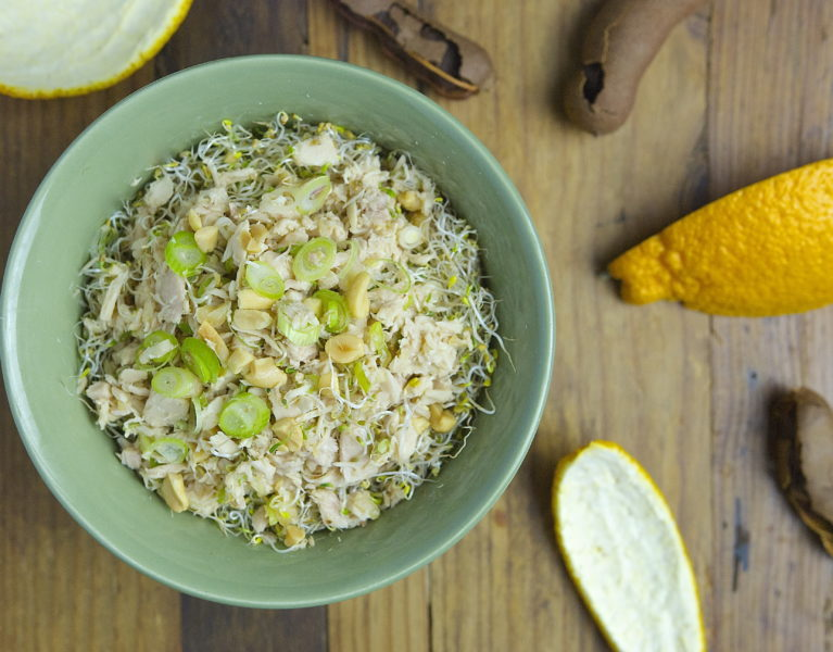 Tuna Salad with Lime and Ginger - Red Hot and Hungry