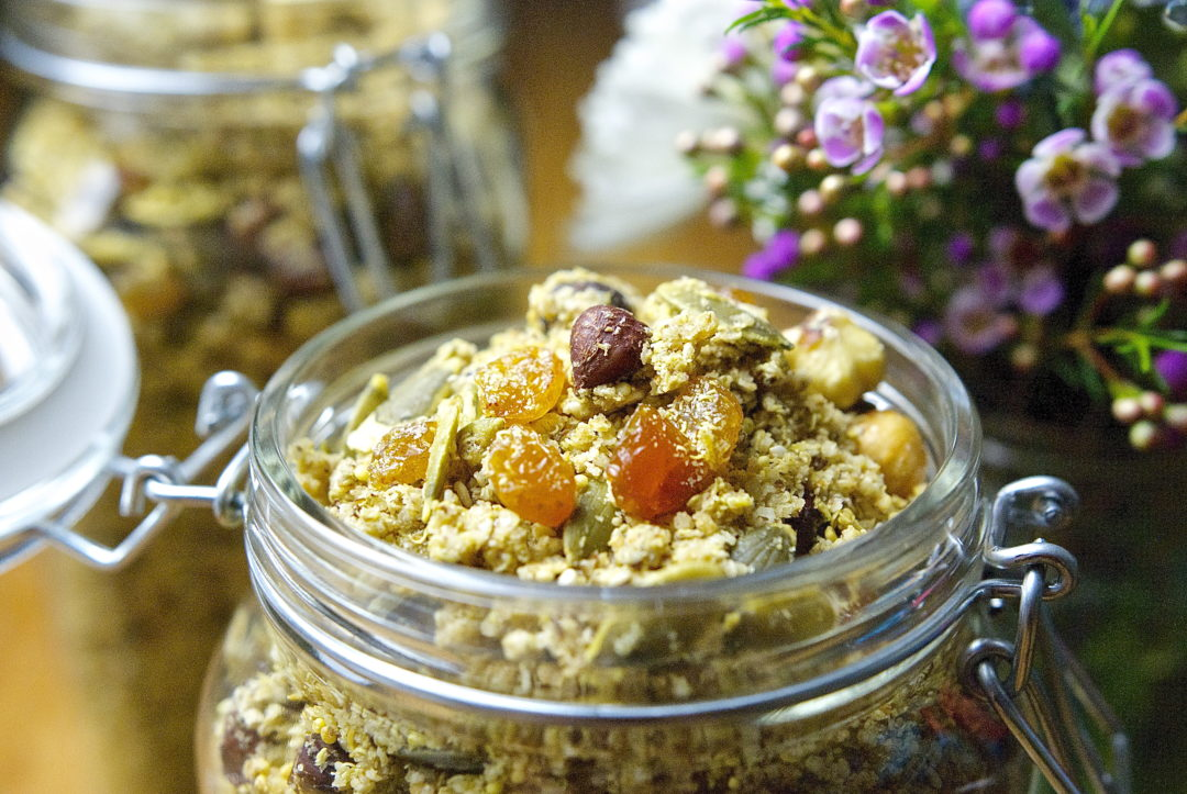 Maple-Raisin Granola - Red Hot and Hungry