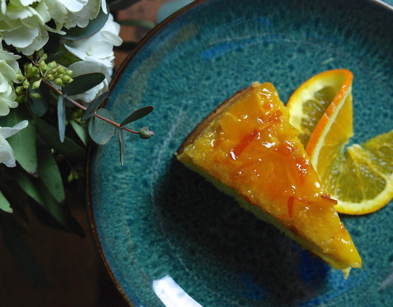 Orange Polenta Cake - Red Hot and Hungry