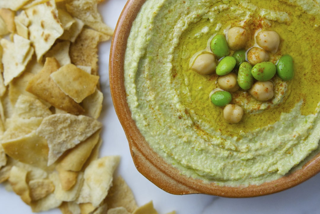 Green Hummus - Red Hot and Hungry
