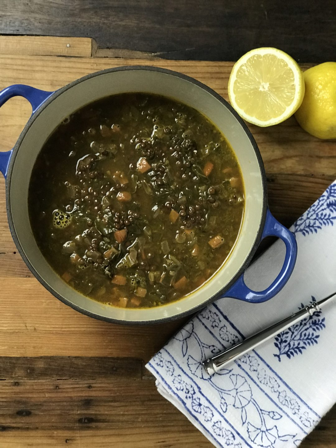 Lemon Lentil Soup - Red Hot and Hungry